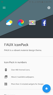FAUX Icon Pack - náhled