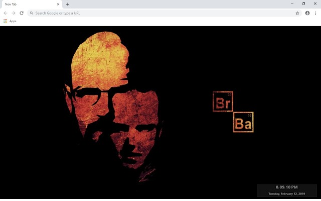 Breaking Bad Full HD Custom New Tab