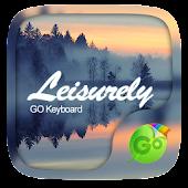 Leisurely GO Keyboard Theme