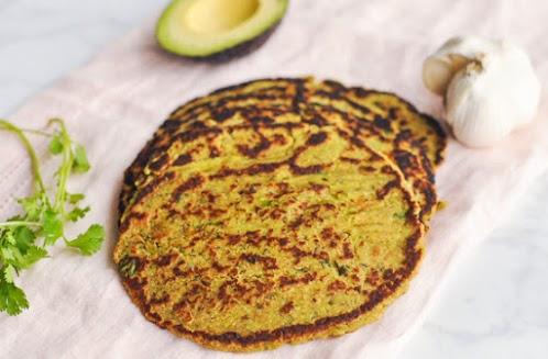 Grain-Free Avocado Flatbread