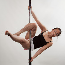 Photo: Vertical Pole Gymnastics - Parallel to the Floor