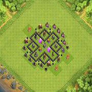 Town Hall 5 Hybrid Base Layout
