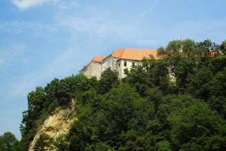 Photo: A to zamek Borl z dołu