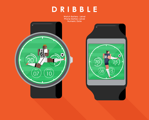 Dribble watchface by Neroya