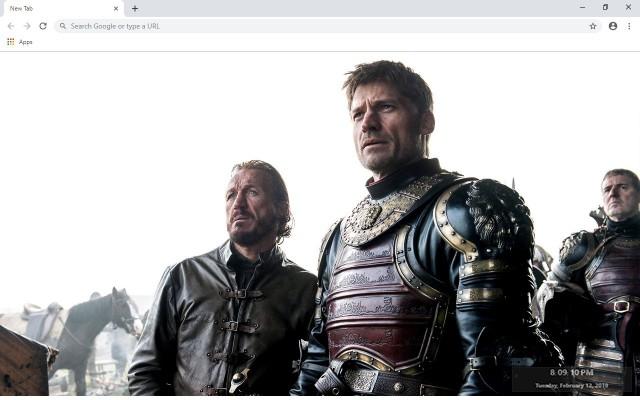 Jaime Lannister New Tab