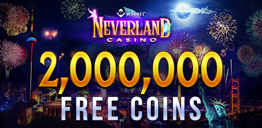 Spin & Win @ Neverland Casino – Play Treasure Island Slots For Free & WIN BIG!