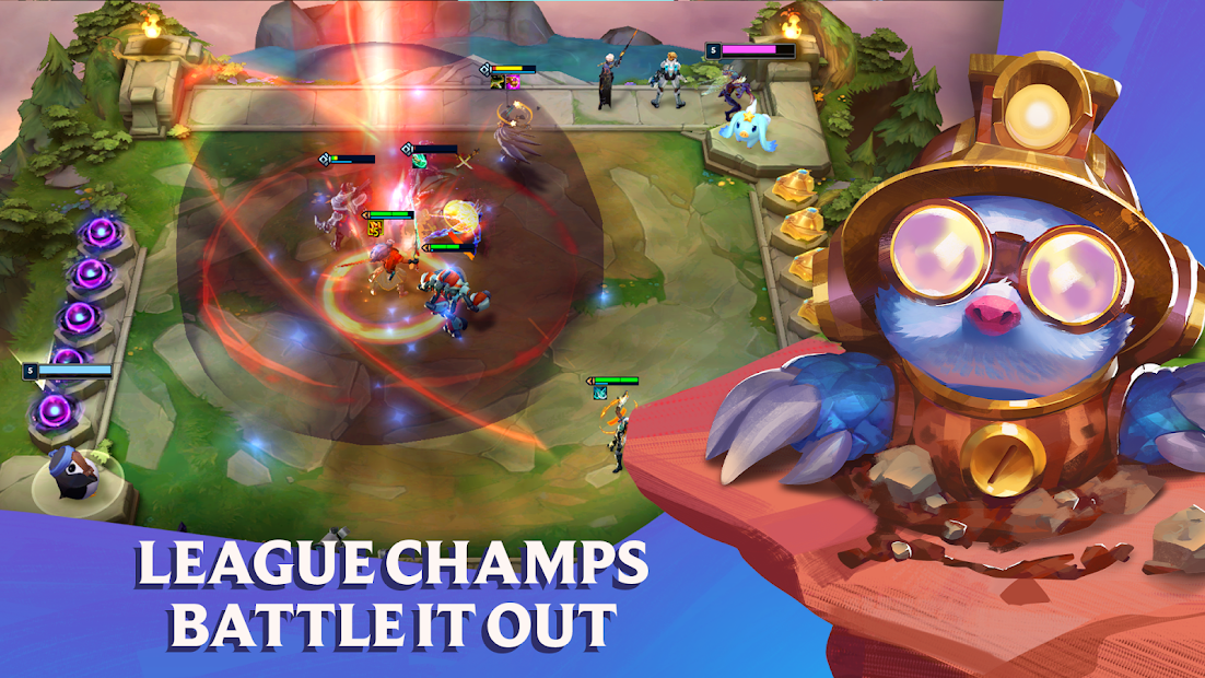 Teamfight Tactics: League of Legends Strategy Game Android App Screenshot