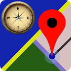 Maps - Compass GPS Navigation & Route Finder App icon