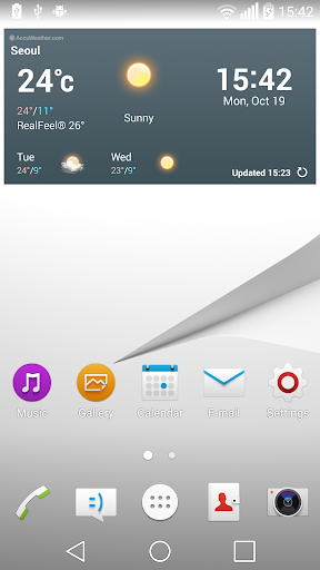 Z Premium Theme for LG Home
