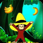 Curious Jungle George : Monkey Run Icon