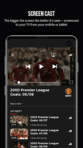 MUTV u2013 Manchester United TV 2.9.0 screenshots 8