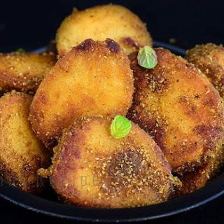 Kachalu Ja Tuk-Fried Taro Recipe