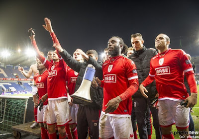 Les joueurs du Standard ont bien fêté leur place en finale de la Coupe
