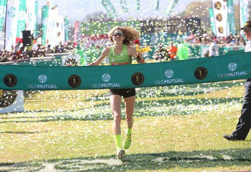 Camille Herron, from Oklahoma in the US wins the Women's race of the Comrades Marathon. She stopped running when she was handed a rose upon entering the arena thinking that she had finished but another runner came up next to and told her  the finish line was still ahead so she narrowly beat the second placed runner.