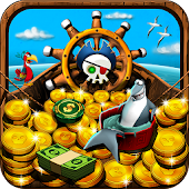 Pirate Treasure Coin Pusher