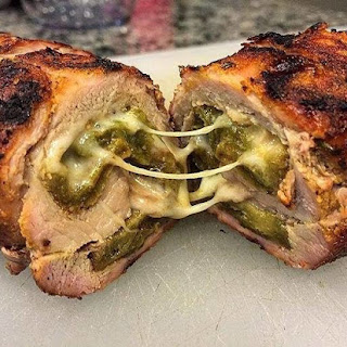Pork Tenderloin Stuffed with New Mexico Green Chile and Cheese Recipe