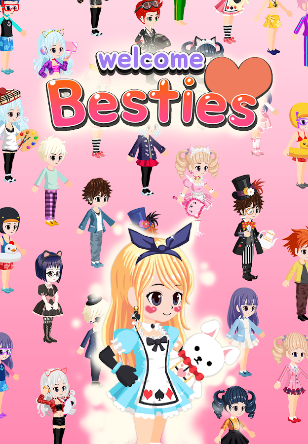 Besties - Make friend & Avatar - Android Apps on Google Play: https://play.google.com/store/apps/details?id=com.nil.danjjak