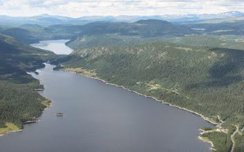 Photo: Borgasjön mot Storjola