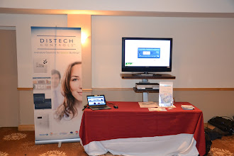 Photo: Distech Controls Tabletop Display
