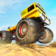 Extreme Monster Truck Driving: Offroad Jeep Stunts