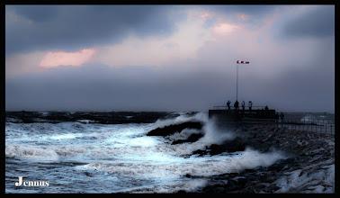 Photo: Wem der Wind ins Gesicht bläst...