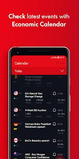 Forex economic calendar app