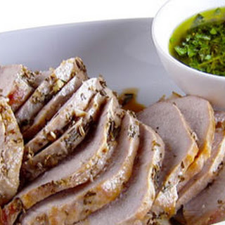 Herb-Roasted Pork Loin with Gremolata Recipe