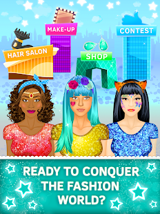 Model Makeover Games For Girls apk screenshot