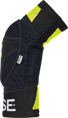 Fuse Omega Knee Pad: Black/Neon Yellow, Pair alternate image 2
