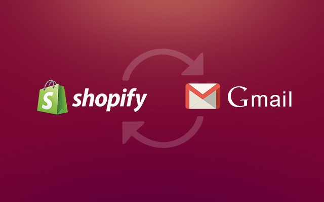 Shopify integration for Gmail