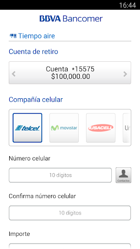 Bancomer móvil for PC