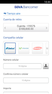 Bancomer móvil Screenshot 5
