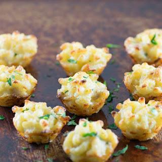 Crab Mac & Cheese Bites.