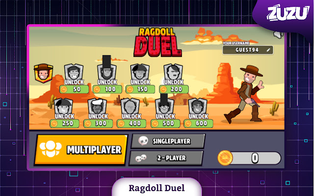 Ragdoll Duel