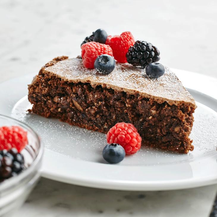 Chocolate Coffee Almond Torte
