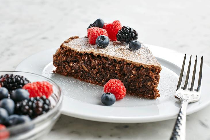 Chocolate Coffee Almond Torte Recipe