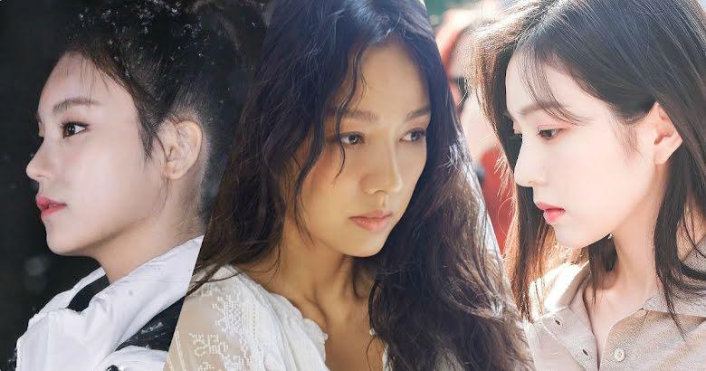 8 Most Gorgeous Side Profiles From Girl Groups Across All K Pop Generations Koreaboo Red velvet background and history. 8 most gorgeous side profiles from girl