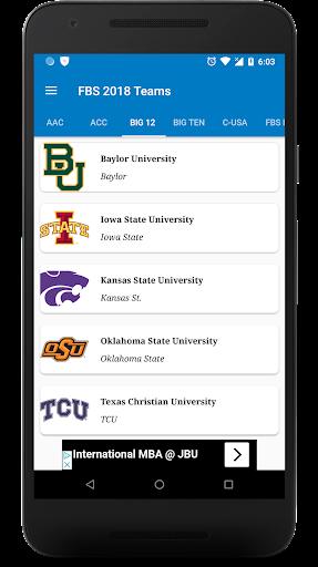 College Football Schedule Scores Apk Download Apkpure Co
