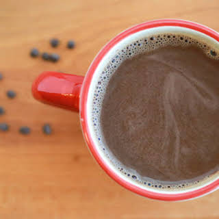 Homemade Hot Chocolate with Chocolate Chips.