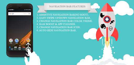Navigation Bar for Android Assistive Control - Apps on