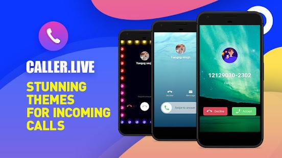 S8 style call screen theme, full screen caller ID