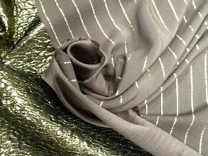 Photo: Ткань: Металассе, стиль Armani, ш.140 см., 4500р. Ткань: Шерсть стиль  Armani, ш.140 см., 3600р.