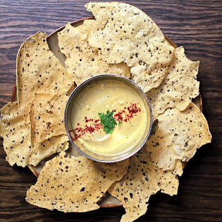 Papadums With Whipped Dal.