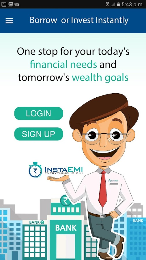 Borrow & Invest as Instant EMI- screenshot