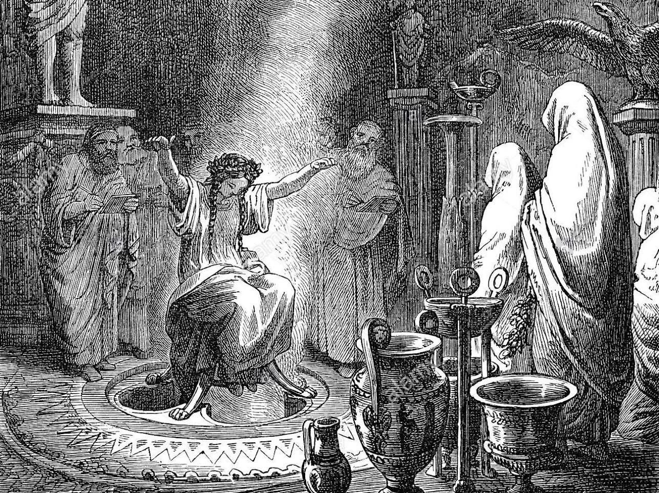 ασφάλεια Δελφών ήταν οι προφητείες τους, Delphi's safety was their prophecies.