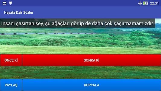 Hayata Dair Sözler screenshot 9