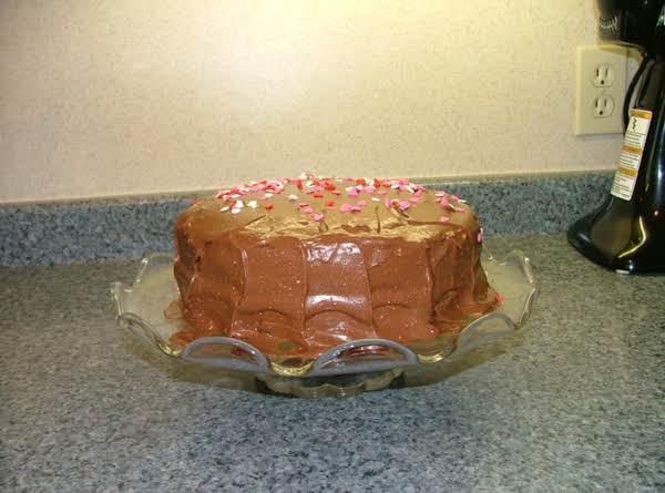 Marshmallow Chocolate Cake