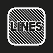 Lines Square - White Icon Pack