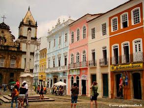 Photo: #018-Salvador de Bahia. Rua São Franscisco dans le Pelourinho.
