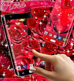 Red rose live wallpaper - náhled